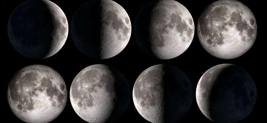 Phases de la Lune Décembre 2020
